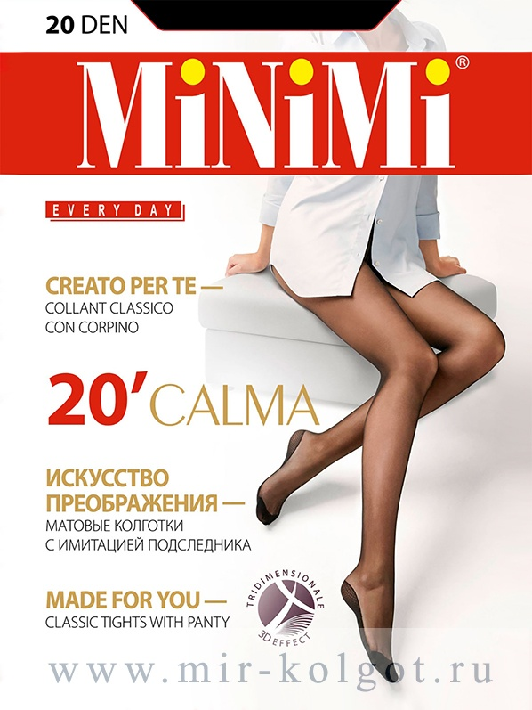 Каталог Minimi Calma 20 от магазина www.mir-kolgot.ru